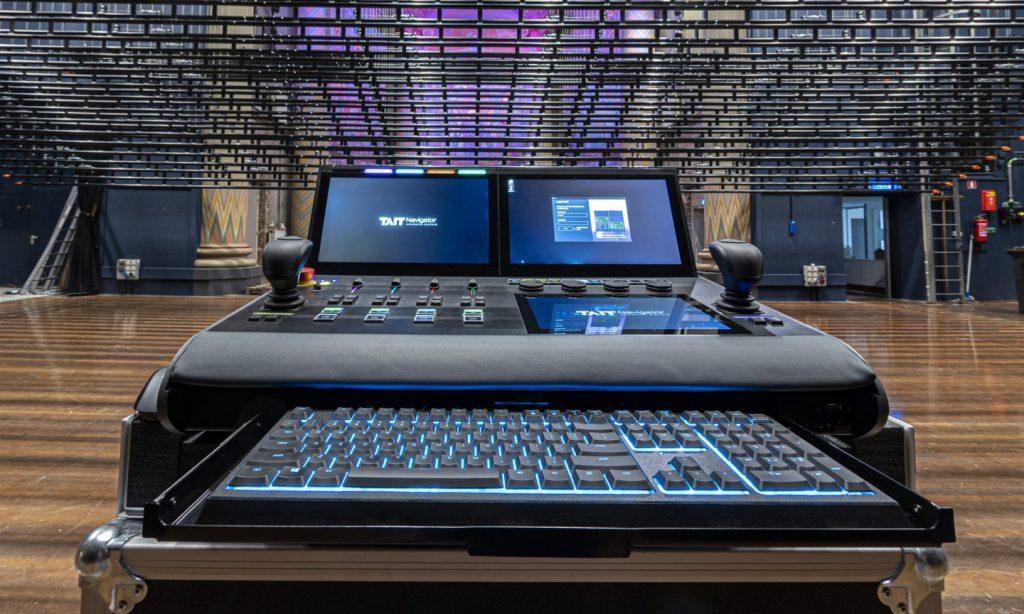 Technisch TAIT systeem theater de Maagd